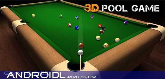 بازی بیلیارد 3D Pool Game v1.0.0